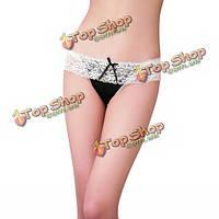 Сексуальная женщина горячая кружева стринги трусы, фото 1