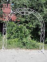 Арка свадебная кованая (236х253 см)