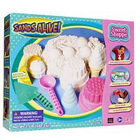 Набор для творчества с мини-песочницей Sands Alive Джелатерия (25100-SA)