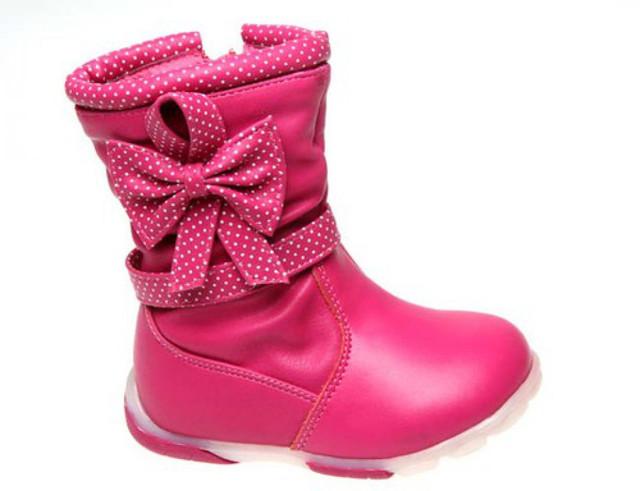 Детская демисезонная обувь для девочек (24-34). Луч. Товары и услуги  компании