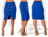Шикарная женская юбка,модель № X4600 ,размеры 48-54