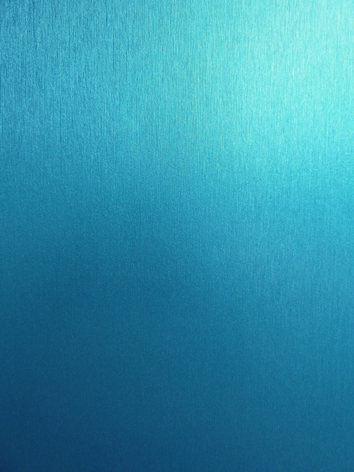 Матовая пленка под металл голубая