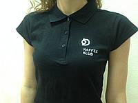 Брендирование: футболки с логотипом вышивкой