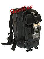 Рюкзак тактический 25 литров Magnum Fox Black,  42029291B