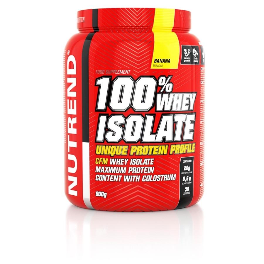 Протеиновий коктейль 100% Whey Isolate (900 г) Nutrend