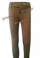 Сексуальная середина талии тонкие обтягивающие брюки тоскует по женщинам