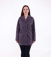 Женское демисезонное пальто Д 112 букле
