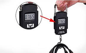 Кантер электронный до 50 кг (весы безмен) WH-A08 с подсветкой, фото 2