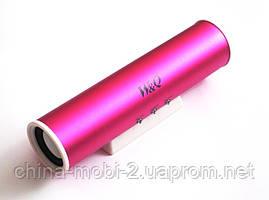 Портативная колонка Digital Speaker W&Q S-101, Pink, фото 2