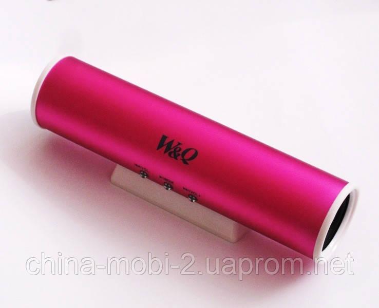 Портативная колонка Digital Speaker W&Q S-101, Pink