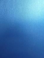 Матовая пленка под металл синяя, фото 1