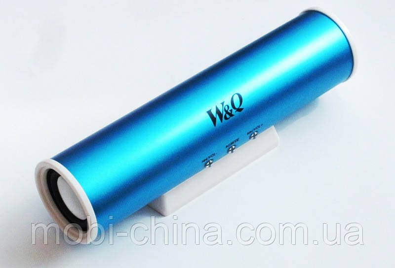 Портативная колонка Digital Speaker W&Q S-101, Blue
