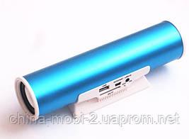 Портативная колонка Digital Speaker W&Q S-101, Blue, фото 3