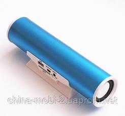 Портативная колонка Digital Speaker W&Q S-101, Blue, фото 2
