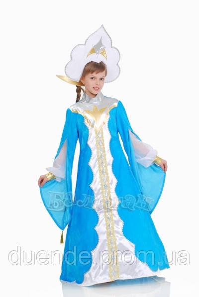 Царевна - Лебедь карнавальный костюм для девочки / BL - ДС165