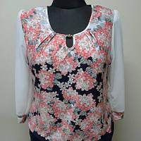 """Женская блуза из трикотажа """"Гилея"""""""