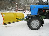 Снегоуборочній отвал на МТЗ БОС - 2.5