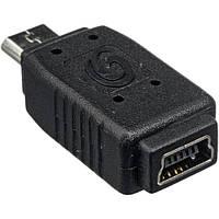 Переходник гнездо mini USB - штекер micro USB