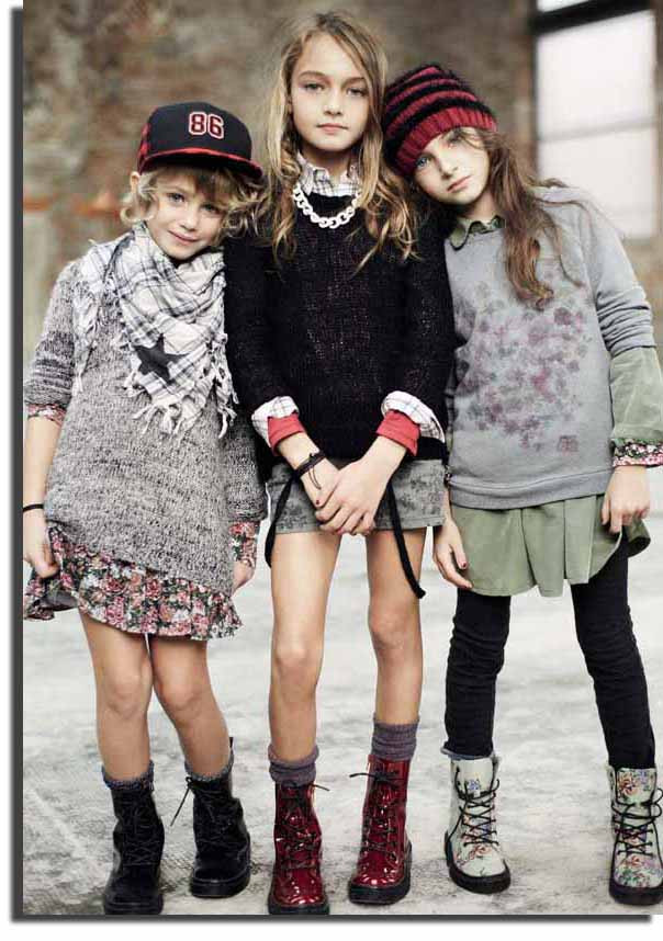 Лучшая одежда для маленьких девочек от Сенсорика