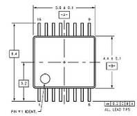 Коммутатор аналоговых сигналов ADG1408YRUZ AD TSSOP-16