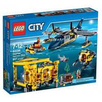 LEGO® City БАЗА ДЛЯ ГЛУБОКОВОДНЫХ ОПЕРАЦИЙ