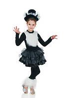 Черная кошка новогодний костюм для девочки