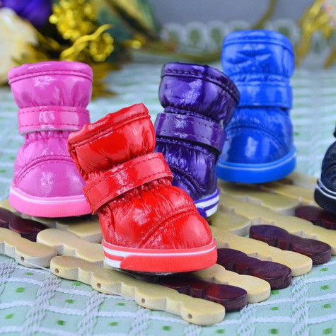 Зимняя обувь для собак Pet-Puppy