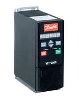 Преобразователь частоты Danfoss VLT 2800 0,75 кВт 1-ф/220 195N0026