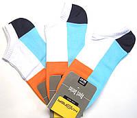 Цветные мужские летние короткие носки
