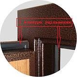 АКЦИЯ Входные двери бронируваные в частный дом БЕСПЛАТНАЯ ДОСТАВКА, двери входные 1,20 на 2,05, фото 7