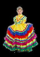 Мексиканка национальный карнавальный костюм для девочки