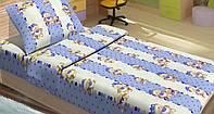 Детское постельное белье для младенцев Lotus ранфорс -  MiMi голубое