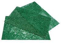 Сизаль прессованный (3 листа А4/уп.) зеленый для творчества и рукоделия
