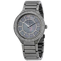 Часы Michael Kors Kerry Pavé Gunmetal-Tone Bracelet МК3410