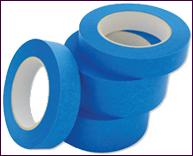 Малярная лента синяя, 24 мм х 20 м х 150 мкм