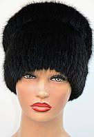 """Женская меховая шапка из ондатры """"Калач"""", фото 1"""