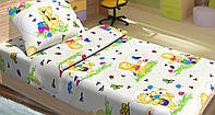 Постельное белье для подростков Lotus Young - Teddy & Bees голубое