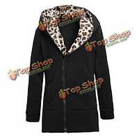 Zanzea Длинная кофта-пальто с капюшоном
