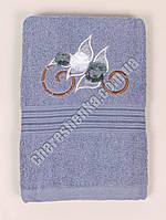 Махровое банное полотенце 108M70