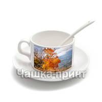Кофейный набор с Вашей фотографией