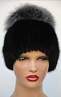 "Женская меховая шапка из ондатры ""Шарик-бубон"", фото 1"