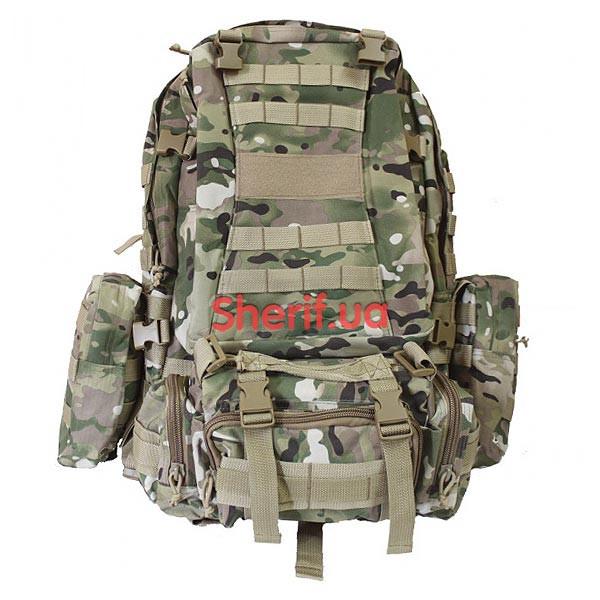 Рюкзак 40 литров армейский большой с подсумками Multicam, B7013MC