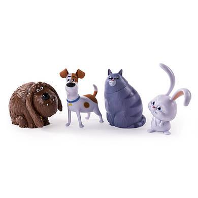 Тайная жизнь домашних животных набор из 4 фигурок МАКС СОНЯ СНЕЖОК ДЮК