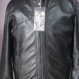 Куртка  мужская демисезонная кожзам. Dushi 11ХЛ(60-62 разм)