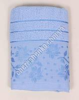 Махровое банное полотенце 108M75 Банное, Венгрия, Голубой