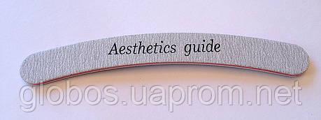Пилочка 100/180 Aesthetics guide LZ222, фото 2