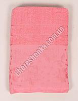 Махровое банное полотенце 108M75 Банное, Венгрия, Розовый