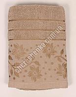 Махровое банное полотенце 108M75 Банное, Венгрия, Коричневый