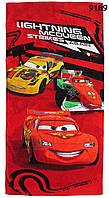 Полотенце Cars для мальчика, размер 78х150 см