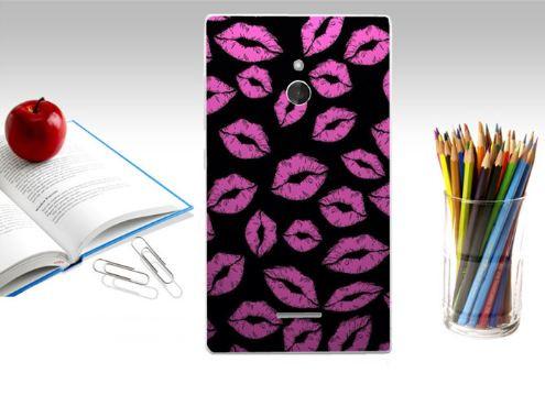 Эксклюзивный чехол для Nokia XL с принтом Поцелуи